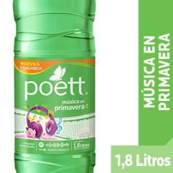 Limpiador Aromatizante Poett Música en Primavera x 1,8 Lt.