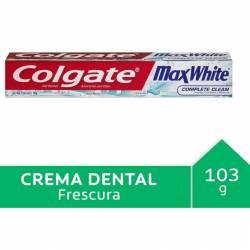 Crema Dental Colgate Max White Crystal x 103 g.