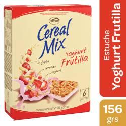 Cereal en Barra Cereal Mix Yogur Frutilla x 6 un. x 156 g.