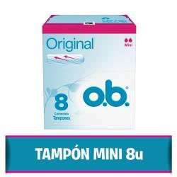 Tampones Ob Mini x 8 un.