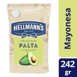 Mayonesa con Aceite de Palta Hellmanns Doy Pack x 242 g.