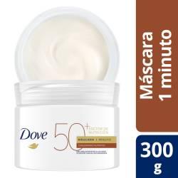 Máscara 1 Minuto Dove Factor 50 x 300 g.