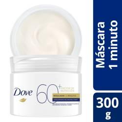 Máscara 1 Minuto Dove Factor 60 x 300 g.