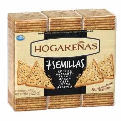 Galletitas con Semillas Hogareñas 7 Semillas x 567 g.