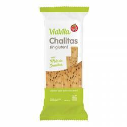 Galletitas Chalitas - Sin Gluten vía Vita con Semillas x 100 g.