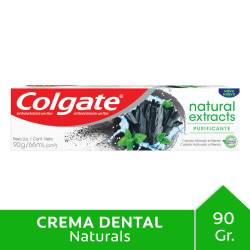 Crema Dental Colgate Naturals Extracts Carbón x 90 cc.