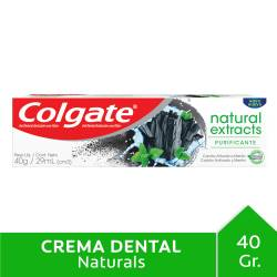 Crema Dental Colgate Naturals Extracts Carbón x 40 cc.