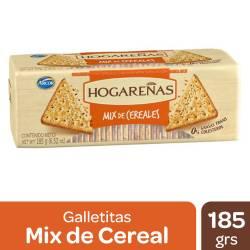 Galletitas Mix de Cereales Hogareñas x 185 g.