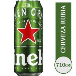 Cerveza Heineken Lata x 710 cc.