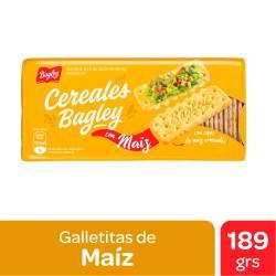Galletitas Cereales con Maíz Bagley x 189 g.
