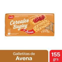 Galletitas Cereales con Avena y Miel Bagley x 155 g.