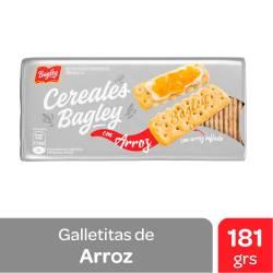 Galletitas Cereales con Arroz Bagley x 181 g.