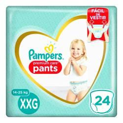 Pañal Pants Premium Care Pampers XXG x 24 un.