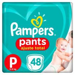 Pañal Pants Confort Sec Pampers P x 48 un.