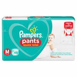 Pañal Pants Confort Sec Pampers M x 48 un.