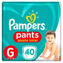 Pañal Pants Confort Sec Pampers G x 40 un.