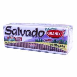 Galletitas Salvado Granix x 240 g.