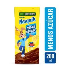 Leche L.V. Chocolatada Menos Azúcar Nesquik x 200 cc.