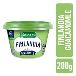 Queso Untable Guacamole Light Finlandia x 200 g.