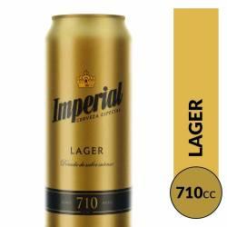 Cerveza Imperial Lata x 710 cc.