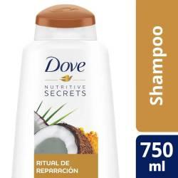 Shampoo Dove Ritual de Reparación x 750 cc.