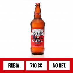 Cerveza Budweiser NO Retornable x 710 cc.