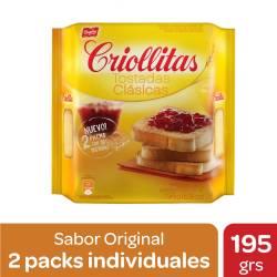 Tostadas Clásicas Criollitas x 195 g.