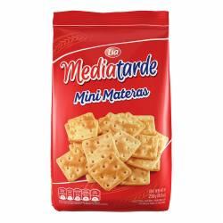 Galletitas Crackers Mini Mediatarde Materas x 250 g.