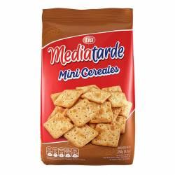 Galletitas Crackers Mini Mediatarde Cereales x 250 g.