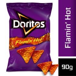Nachos Flamin Hot Doritos x 90 g.