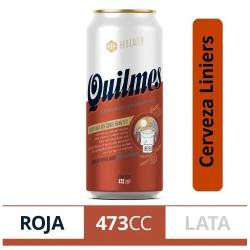 Cerveza Quilmes Red Lager Lata x 473 cc.