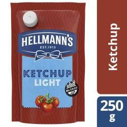 Ketchup Light Hellmanns Doy Pack x 250 g.