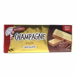 Oblea con Relleno sabor Chocolate Champagne x 140 g.