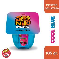 Postre Gelatina Serenito Cool Blue x 105 g.