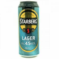 Cerveza Starberg Rubia Lager Lata x 500 cc.