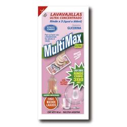 Detergente Líquido Multimax Ultra Aloe Vera x 100 cc.