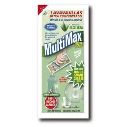 Detergente Líquido Multimax Ultra Limón x 100 cc.