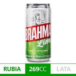 Cerveza Brahma Lime Lata x 269 cc.