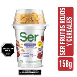 Yogur Descremado Crunch Ser con Frutas x 158 g.