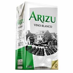 Vino Blanco Arizu Tetra brik x 1 Lt.