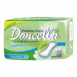 Protector Diario Anatómico Doncella con Perforaciones x 20 un.