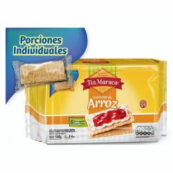 Tostadas de Arroz Tía Maruca x 160 g.