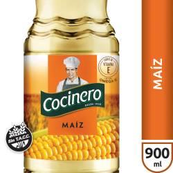 Aceite de Maíz Cocinero x 900 cc.