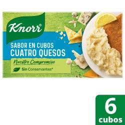 Saborizante en Cubos Knorr Cuatro Quesos x 57 g.