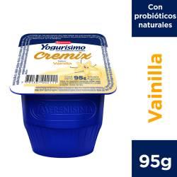 Yogur Entero Cremix Yogurísimo Vainilla x 95 g.