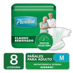 Pañal para Adulto Classic Plenitud M x 8 un.
