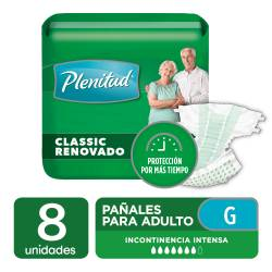 Pañal para Adulto Classic Plenitud G x 8 un.