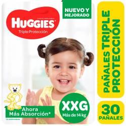 Pañal Triple Proteccion Hiper Huggies XXG x 30 un.