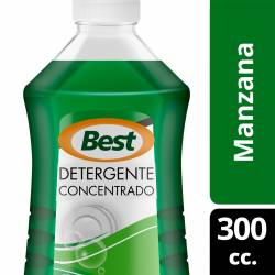 Detergente Líquido Concentrado Best Multifruta x 300 cc.