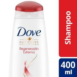 Shampoo Dove Regeneración Extrema x 400 cc.